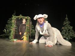 ZRUŠENO / Pohádkové neděle: Pohádka o zlatém kuřeti (Divadýlko Skřítci)