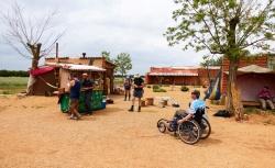 Biograf Kyje - Camino na kolečkách