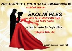 Ples ZŠ Šimanovská